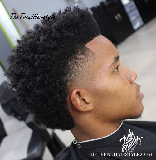 Long Top Short Sides And Back 40 Stirring Curly Hairstyles For
