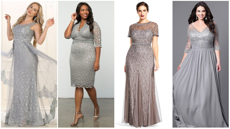 Stunning Silver Wedding Dresses That'll Make You Shine