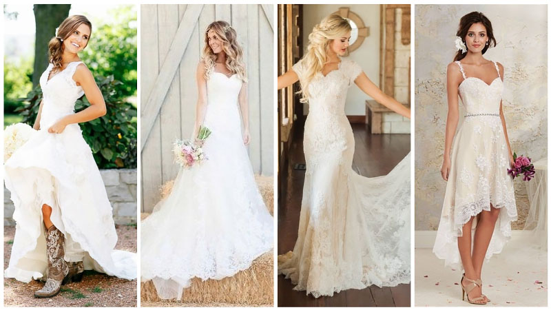 The Best Casual Wedding Dresses For Carefree Brides