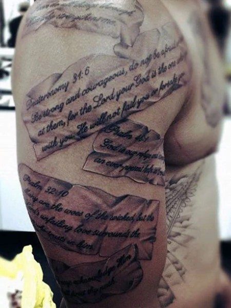 Word Tattoos On Arms : tattoos, Tattoo, Ideas, Trend, Spotter