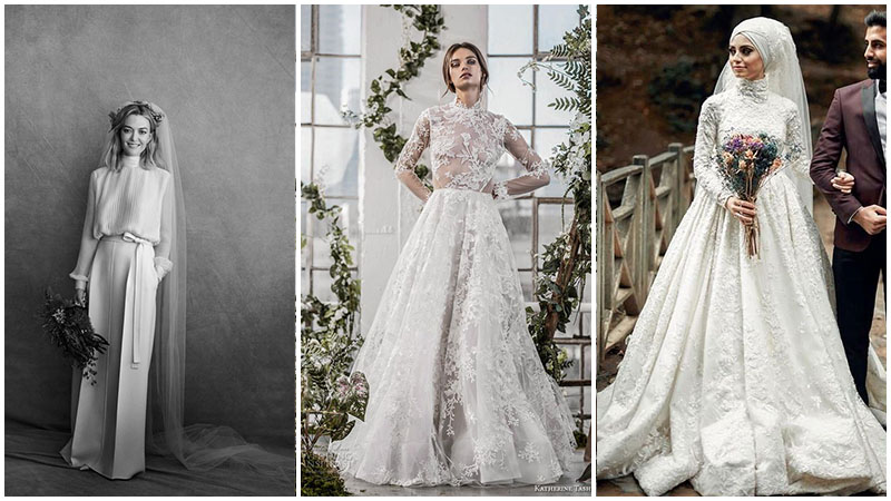 The Most Stunning Long Sleeve Wedding Dresses For Every Bride