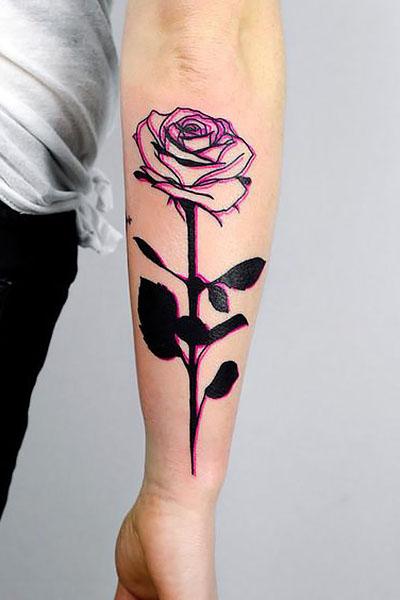 Rose Tattoo On Arm : tattoo, Gorgeous, Tattoo, Ideas, Women, Trend, Spotter