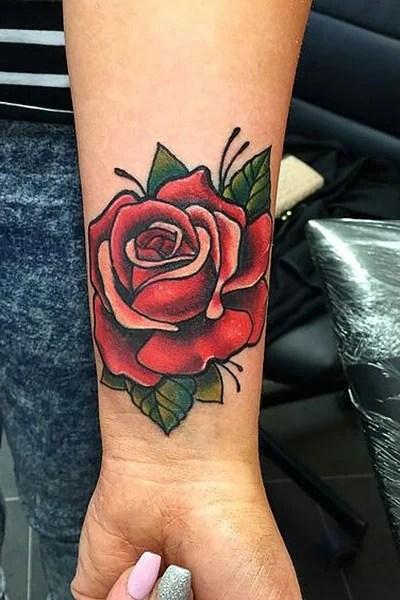 Classic Rose Tattoo : classic, tattoo, Gorgeous, Tattoo, Ideas, Women, Trend, Spotter