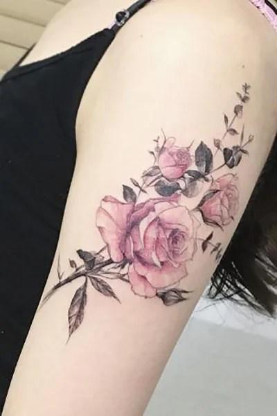 2 Roses Tattoo : roses, tattoo, Gorgeous, Tattoo, Ideas, Women, Trend, Spotter