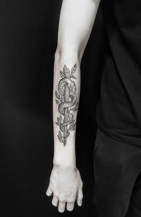 Simple Forearm Tattoos For Guys : simple, forearm, tattoos, Forearm, Tattoos, Trend, Spotter
