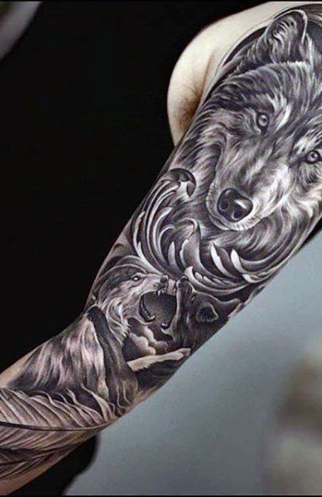 Wolf Eye Tattoo : tattoo, Coolest, Tattoos, Trend, Spotter