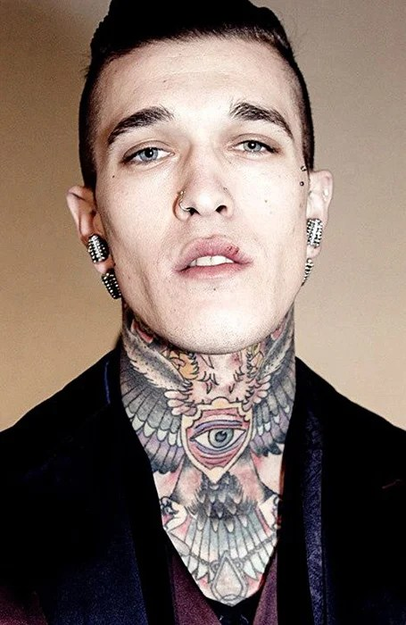 Mens Neck Tattoos : tattoos, Coolest, Tattoos, Trend, Spotter