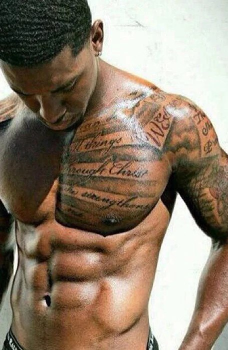 Black Men With Tattoos : black, tattoos, Coolest, Shoulder, Tattoos, Trend, Spotter