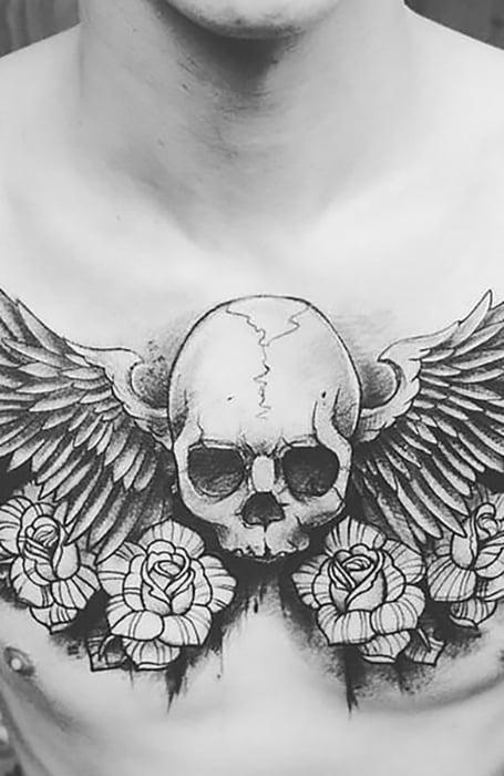 Simple Good And Evil Tattoo : simple, tattoo, Badass, Skull, Tattoos, Trend, Spotter