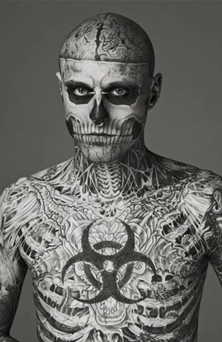 Face Skull Tattoo : skull, tattoo, Badass, Skull, Tattoos, Trend, Spotter