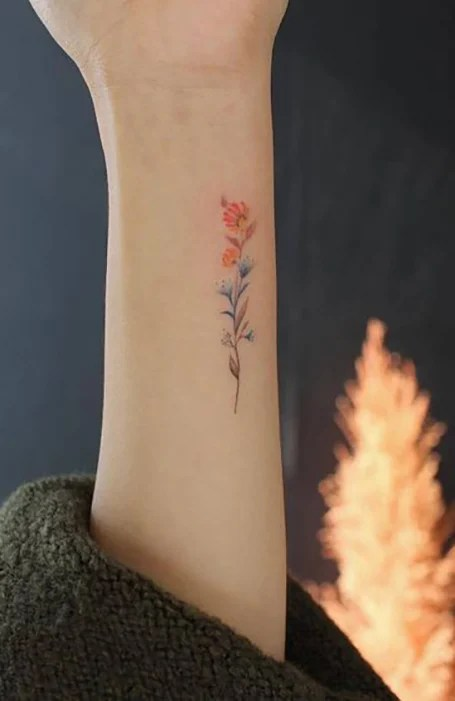 Cool Flower Tattoos : flower, tattoos, Beautiful, Flower, Tattoos, Women, Trend, Spotter