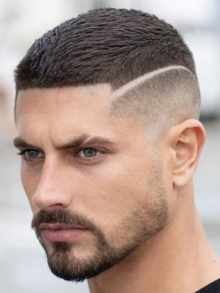 Fade Haircut With Line Design : haircut, design, Awesome, Designs, Trend, Spotter