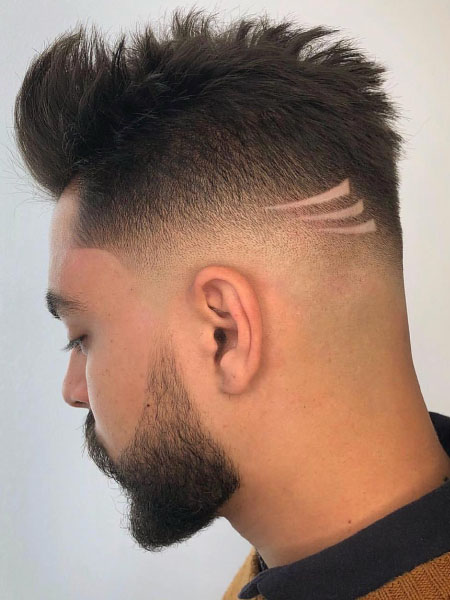Line Design Haircut : design, haircut, Awesome, Designs, Trend, Spotter