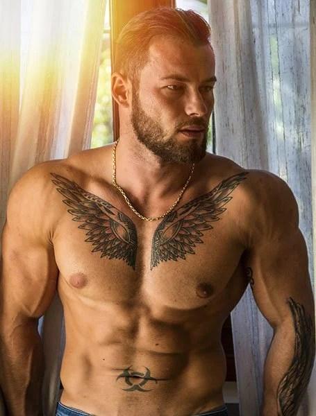 Wings Under Breast Tattoo : wings, under, breast, tattoo, Angel, Tattoos, Trend, Spotter