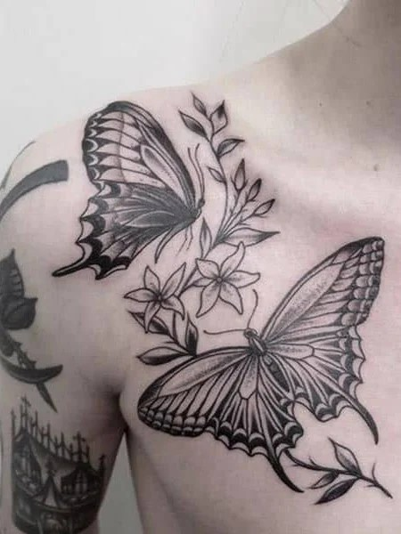 Collarbone Cover Up Tattoos : collarbone, cover, tattoos, Statement, Collarbone, Tattoos, Trend, Spotter