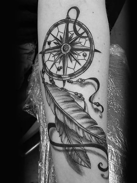 Dream Catcher Forearm Tattoo : dream, catcher, forearm, tattoo, Meaningful, Dream, Catcher, Tattoos, Trend, Spotter