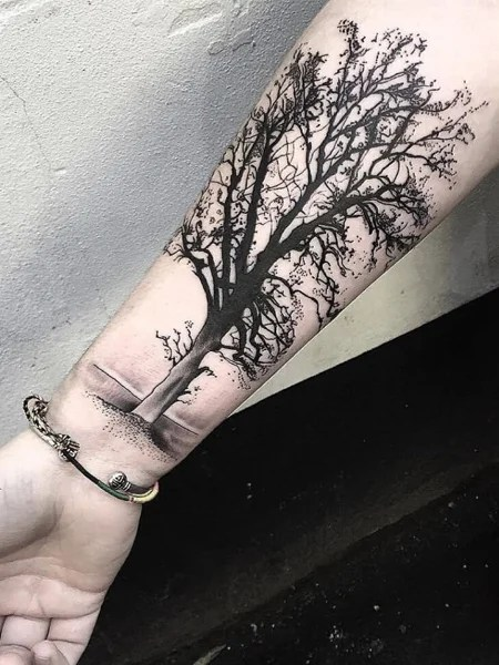 Tree Tattoos For Men : tattoos, Intricate, Tattoos, Trend, Spotter