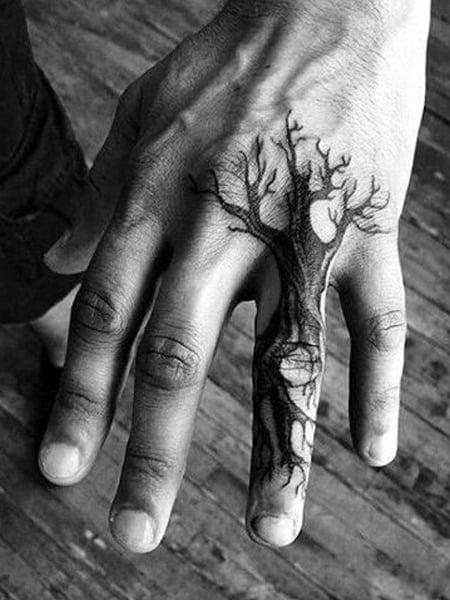 Small Tree Tattoo : small, tattoo, Intricate, Tattoos, Trend, Spotter