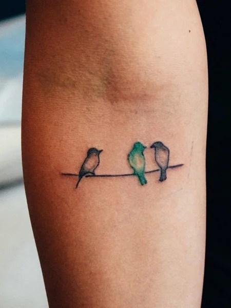 3 Birds Tattoo : birds, tattoo, Carefree, Tattoos, Trend, Spotter