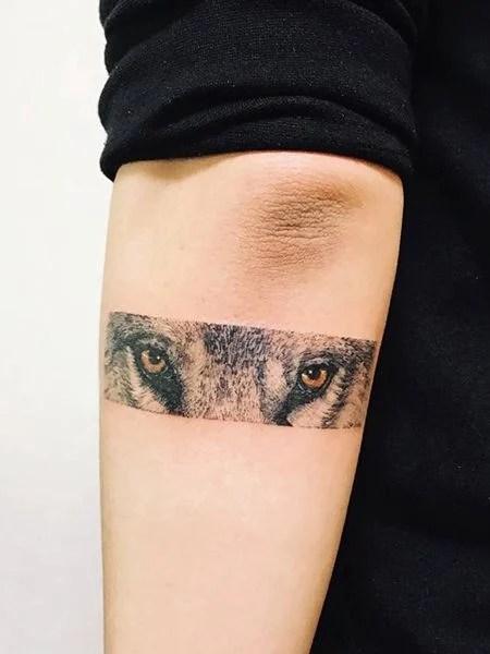 Animal Eyes Tattoo : animal, tattoo, Tattoos, Vigilant, Trend, Spotter