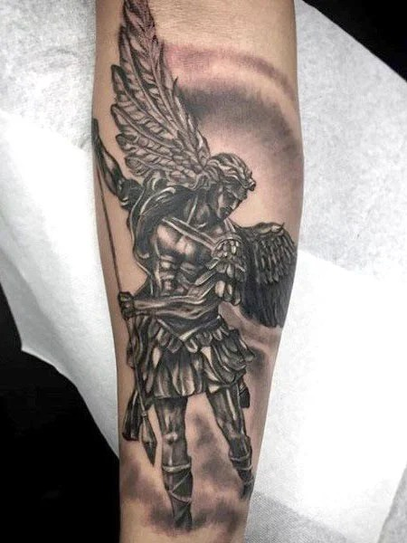 70 Beautiful Guardian Angel Tattoo Designs