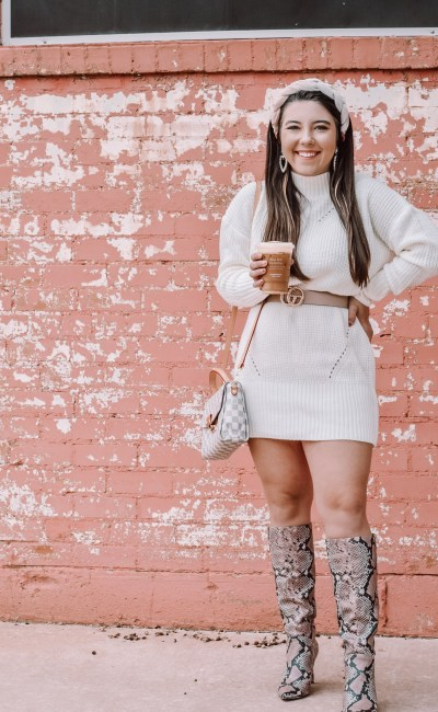 How To Style Snake Skin Boots for Fall