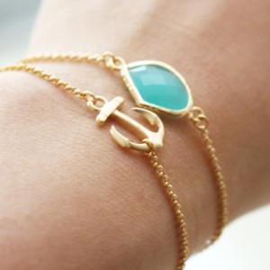 bracelet ancre bijoux fantaisie
