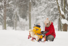 Triangle Trend Raleigh Snow Day Sled Toboggan Sledding Fun Kids Family Park Outdoor Activity Things To Do Dorothea Dix