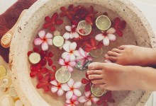 Triangle Trend Ionic Foot Spa