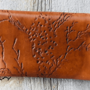 Magnetic Clasp Leather Pouch