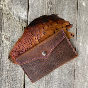 All Purpose Kodiak Leather Pouch