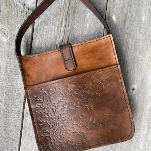 Womens Custom Leather Crossbody