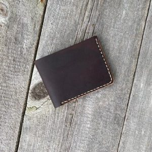 Handcrafted Slim Bi-Fold Wallet
