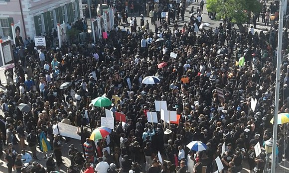 Image result for Bahamas protest