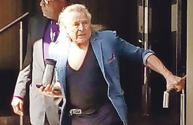 Nygard Just Another Day At Court The Tribune