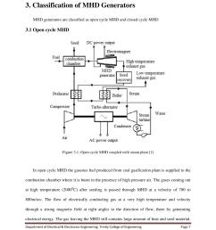 Mhd Power Plant Diagram - three dimensional equilibria in