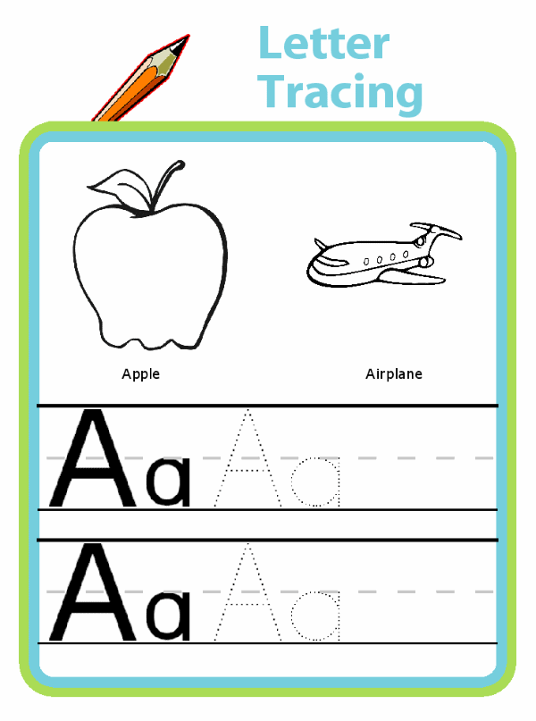 Handwriting practice for the whole alphabet and all the numbers at thetripclip.com! You can even enter your own words for your child to trace - try their name, address, and telephone number!