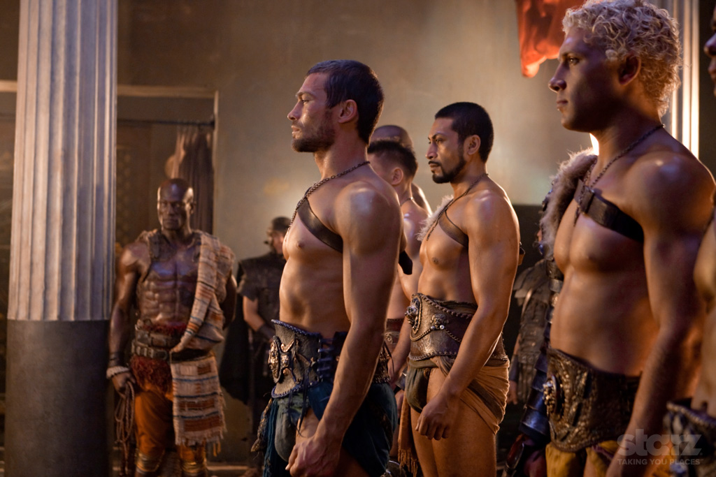 Spartacus Blood and Sand Review  The Triple Option
