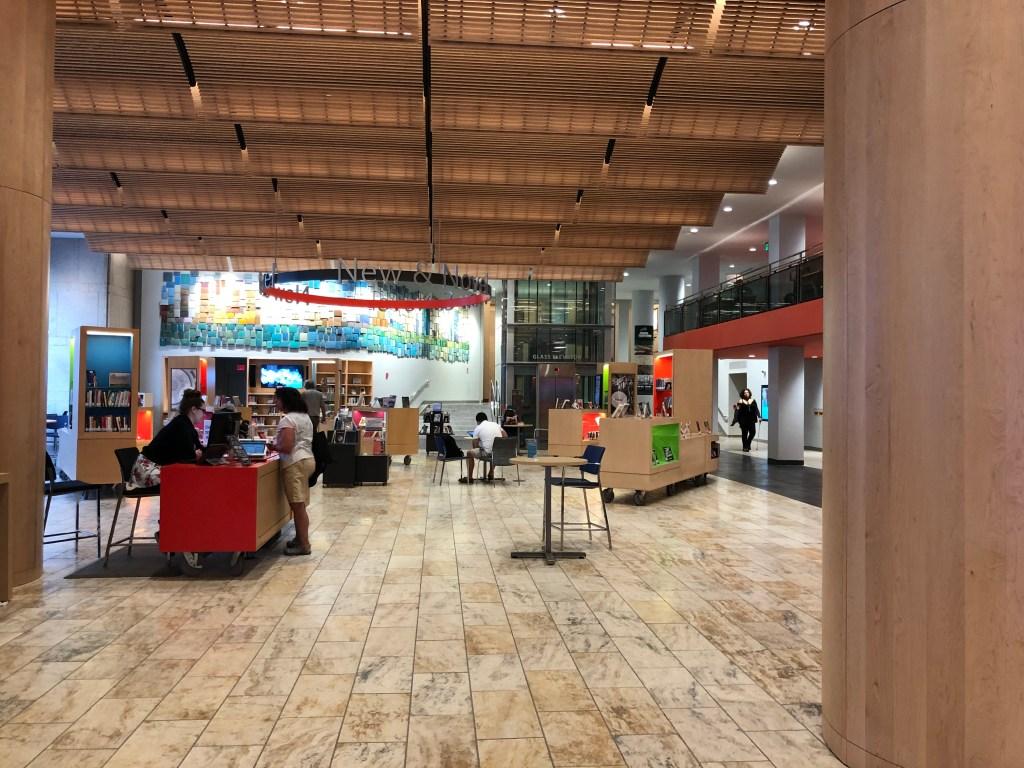 The Johnson Building lobby