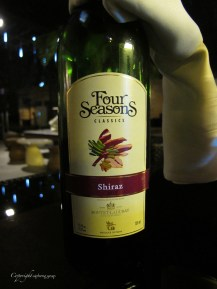 Local Indian red wine