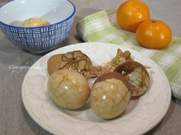 Marbled tea egg