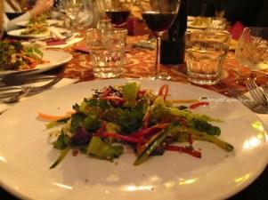 Ox heart salad