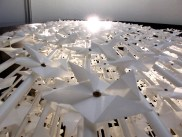 The Wind Portal of 5,000 paper windmills turning in the breeze, created by Najla El Zein