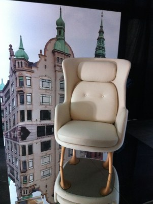 Ro chair designed by Jaime Hayon for Republic of Fritz Hansen