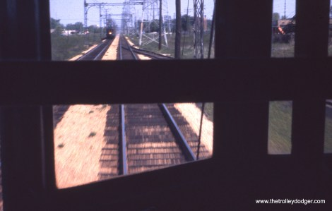 "A ""railfan's view"" along the Skokie Valley Route."