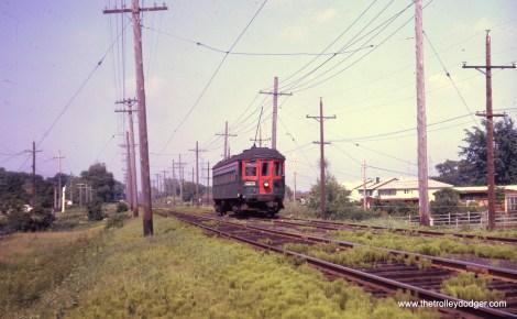 Car 736 on the Mundelein branch.