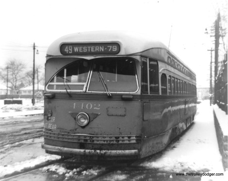 CTA 4402 at the Western-Berwyn loop.