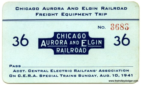 A pass from an early CERA fantrip.