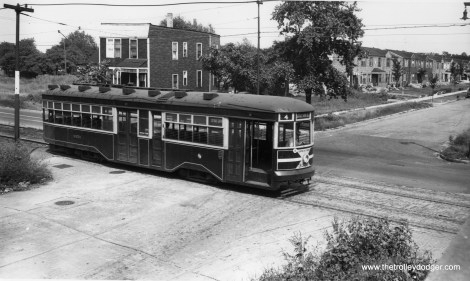 """Whether a """"Sedan,"""" a """"Peter Witt,"""" or both, car 3359 is southbound on Cottage Grove at 105th. (Robert V. Mehlenbeck Photo)"""