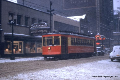 CTA 248 at 63rd and Peoria in 1952.